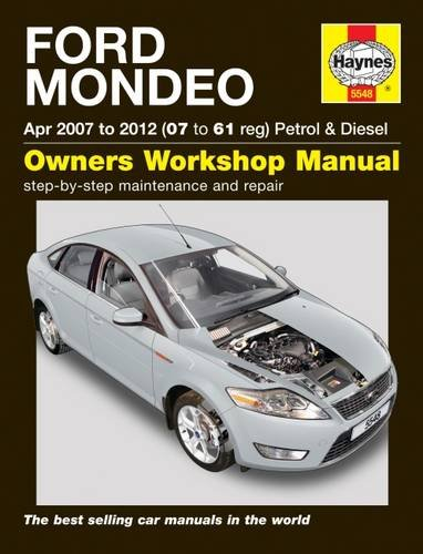 9780857338860: Ford Mondeo 07-12 Service and Repair Manual (Haynes Service and Repair Manuals)