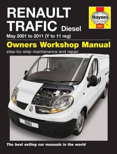 Renault Trafic Van Service and Repair Manual (Haynes Service and Repair Manuals)