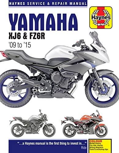 9780857338891: Yamaha XJ6 Service and Repair Manual 2009-2015