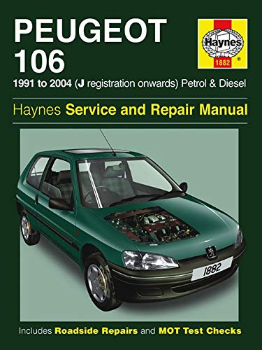 9780857338914: Peugeot 106 Service and Repair Manual (Haynes Service and Repair Manuals)
