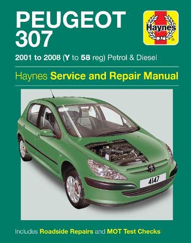 9780857338938: Peugeot 307 Service and Repair Manual (Haynes Service and Repair Manuals)