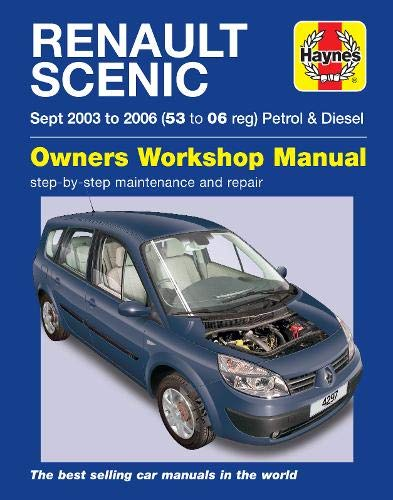 9780857338945: Renault Scenic Service and Repair Manual (Haynes Service and Repair Manuals)