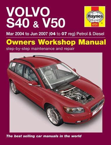 9780857338952: Volvo S40 & V50 Service and Repair Manual (Haynes Service and Repair Manuals)