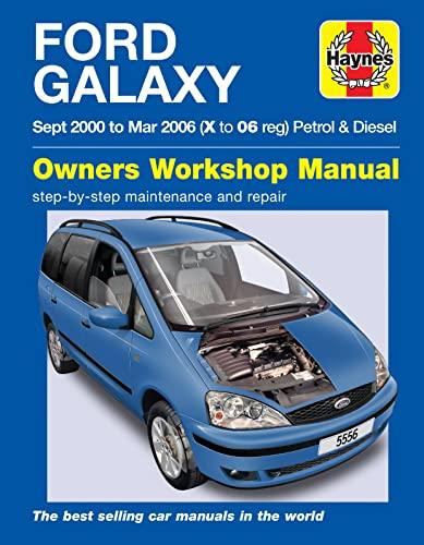 9780857338990: Ford Galaxy Service and Repair Manual