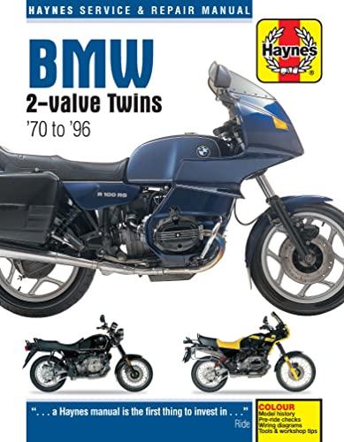 BMW 2-Valve Twins Service and Repair Manual: Haynes, John H