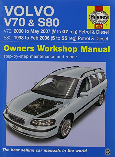 9780857339072: Volvo V70 & S80 Service and Repair Manual