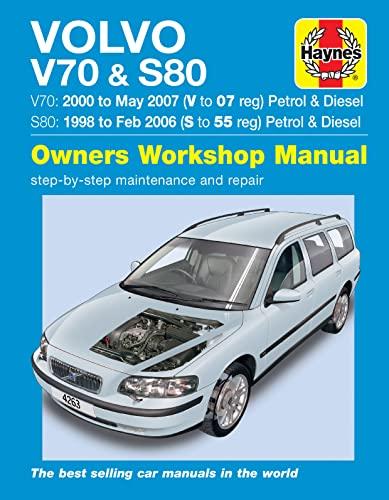 9780857339072: Volvo V70 & S80 Service and Repair Manual
