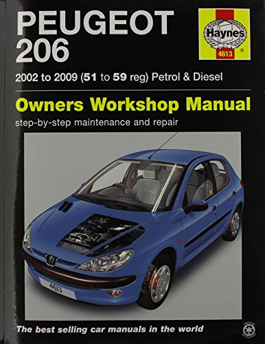 9780857339089: Peugeot 206 Petrol & Diesel (02 - 09) Haynes Repair Manual