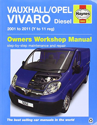 Vauxhall / Opel Vivaro Van Service and Repair Manual