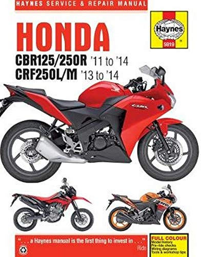 9780857339195: Honda CBR125/250R & CRF250L/M Service and Repair Manual (Haynes Service and Repair Manuals)