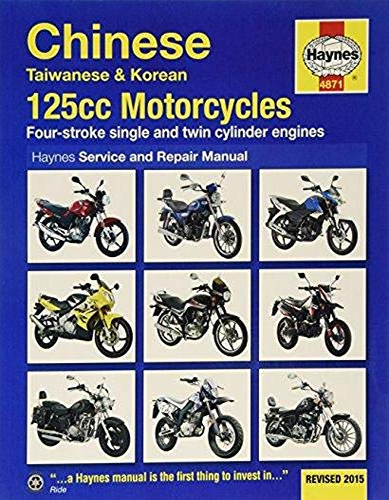 9780857339201: Chinese, Taiwanese & Korean 125CC Motorcycles Service and Repair Manual