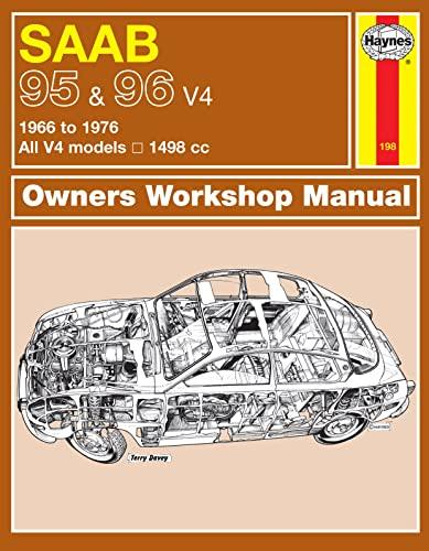 Saab 95 & 96 Service and Repair Manual (Haynes Service and Repair Manuals)