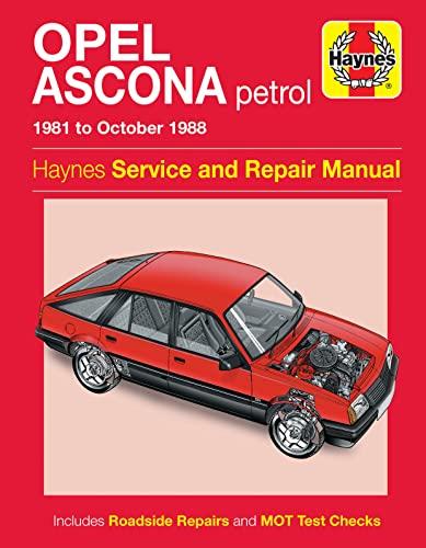9780857339294: Opel Ascona Service and Repair Manual (Haynes Service and Repair Manuals)