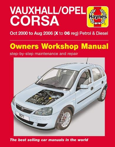 9780857339355: Vauxhall/Opel Corsa (Haynes Service and Repair Manuals)