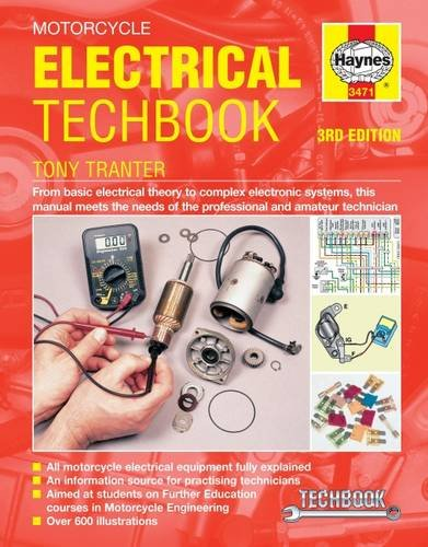 Motorcycle Electrical Techbook (Paperback): Tony Tranter
