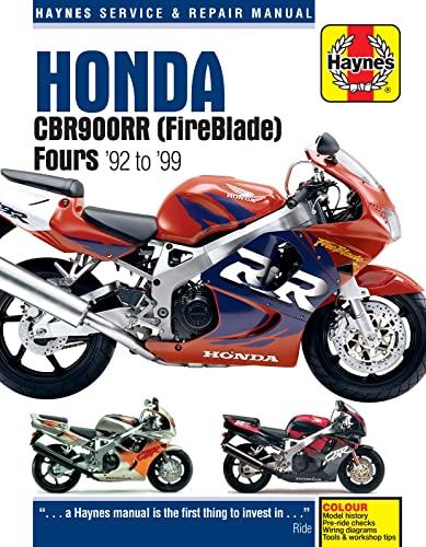 9780857339386: Honda CBR900RR (FireBlade) Fours '92 to '99 (Haynes Service & Repair Manual)