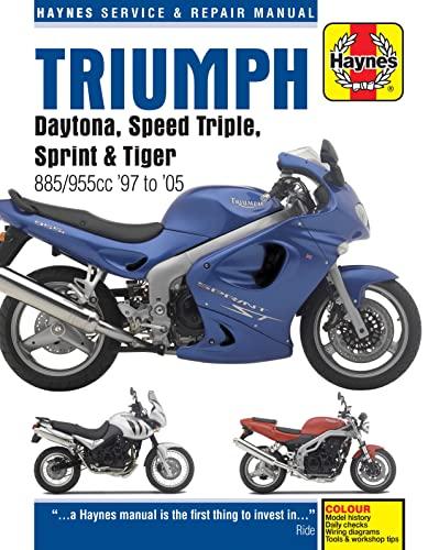 9780857339393: Triumph Daytona, Speed Triple, Sprint & Tiger: 885/955cc '97 to '05 (Haynes Service & Repair Manual)