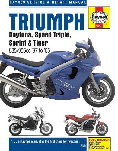 9780857339393: Triumph Daytona, Speed Triple, Sprint & Tiger: 885/955cc '97 to '05 (Haynes Service & Repair Manual)