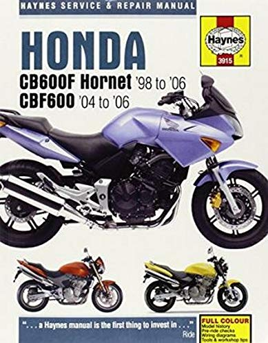 9780857339409: Honda CB600F Hornet Service and Repair Manual (Haynes Service and Repair Manuals)