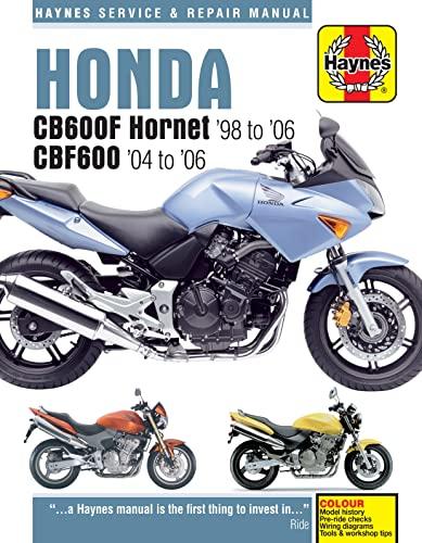 Honda CB600F Hornet Service and Repair Manual (Haynes Service and Repair Manuals): Mather, Phil