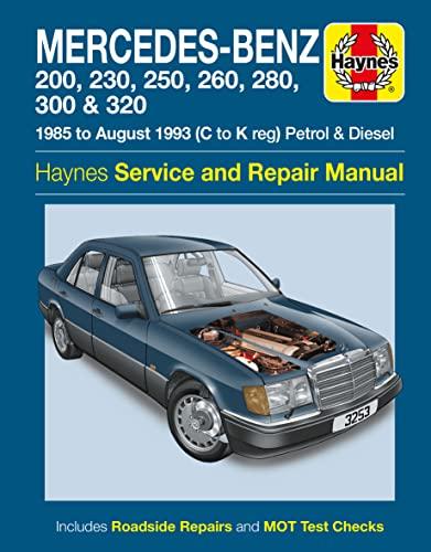 9780857339485: Mercedes-Benz 124 Series Service and Repair Manual (Haynes Service and Repair Manuals)
