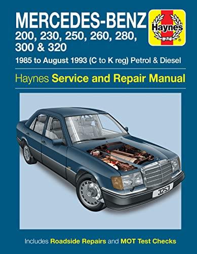 9780857339485: Mercedes-Benz 124 Series Service and Repair Manual