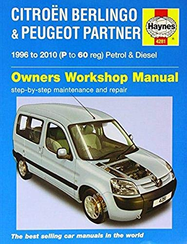 9780857339508: Citroen Berlingo and Peugeot Partner Service and Repair Manual (Haynes Service and Repair Manuals)
