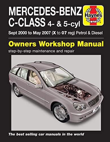 9780857339539: Mercedes-Benz C-Class Service and Repair Manual (Haynes Service and Repair Manuals)