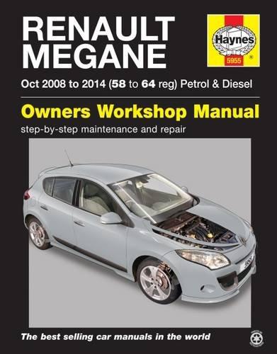 9780857339553: Renault Megane Petrol and Diesel Owner's Workshop Manual (Haynes Service and Repair Manuals)