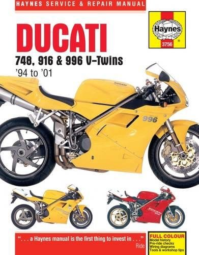 9780857339577: Ducati 748, 916 & 996 V-Twins '94 to '01 (Haynes Service and Repair Manuals)