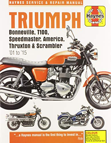 9780857339584: Triumph Bonneville 01-12 (Haynes Service & Repair Manual)