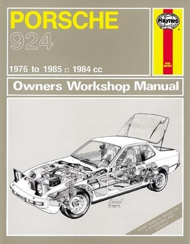 9780857339645: Porsche 924 Service and Repair Manual (Haynes Service and Repair Manuals)