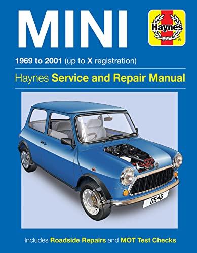 Haynes Mini 1969 to 2001 Up to X Registration (Haynes Service & Repair Manual): Editors of ...