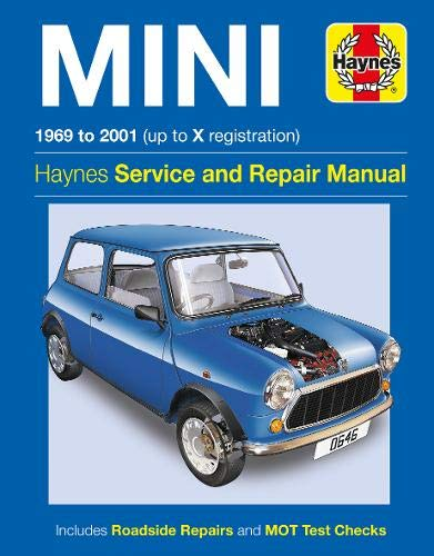 9780857339652: Mini (69-01) Service and Repair Manual (Haynes Service and Repair Manuals)