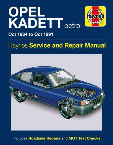 9780857339676: Opel Kadett Service and Repair Manual (Haynes Service and Repair Manuals)