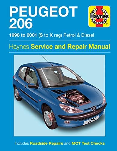 9780857339690: Peugeot 206 Service and Repair Manual (Haynes Service and Repair Manuals)