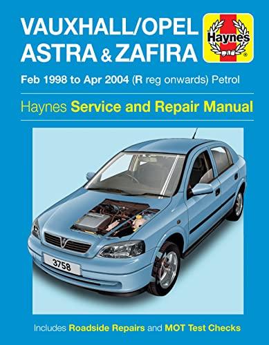 9780857339706: Vauxhall/Opel Astra & Zafira Petrol Service and Repair Manua