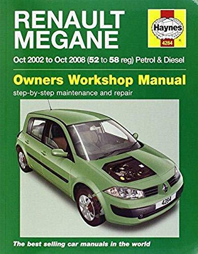 9780857339744: Renault Megane Service and Repair Manual (Haynes Service and Repair Manuals)