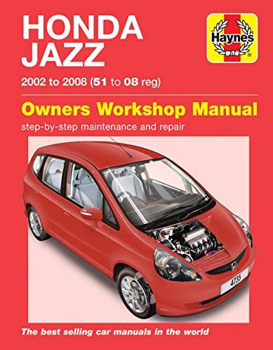 9780857339775: Honda Jazz Service and Repair Manual (Haynes Service and Repair Manuals)