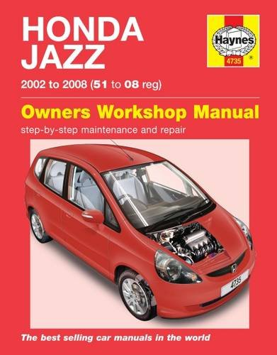 Honda Jazz Service and Repair Manual (Haynes Service and Repair Manuals)