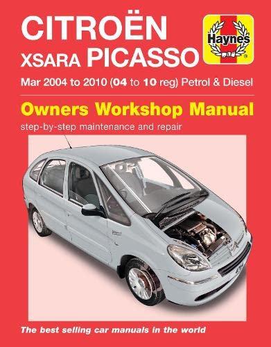 9780857339782: Citroen Xsara Picasso Service and Repair Manual (Haynes Service and Repair Manuals)