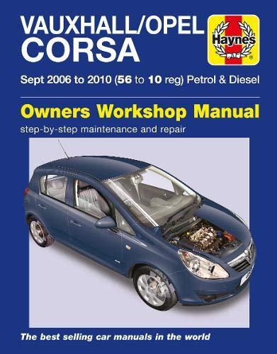 9780857339799: Vauxhall/Opel Corsa Service and Repair Manual (Haynes Service and Repair Manuals)