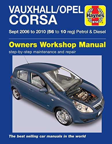 9780857339799: Vauxhall/Opel Corsa Service and Repair Manual