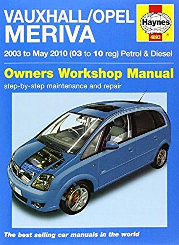 9780857339805: Vauxhall/Opel Meriva Service and Repair Manual (Service & repair manuals)