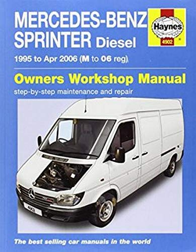 Mercedes Sprinter Van Service and Repair Manual (Haynes Service and Repair Manuals): J H Haynes &...