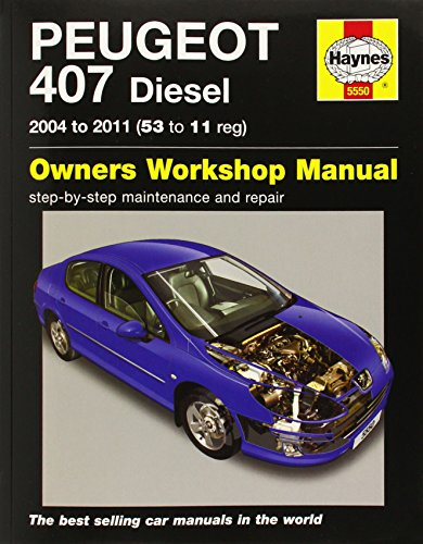 9780857339829: Peugeot 407 Service and Repair Manual (Haynes Service and Repair Manuals)
