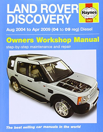 9780857339836: Land Rover Discovery Diesel Service and Repair Manual (Haynes Service and Repair Manuals)