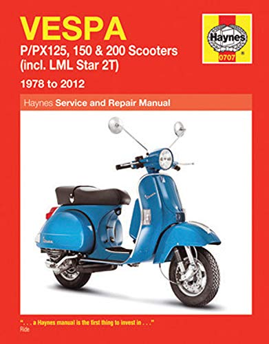9780857339843: Vespa P/PX125, 150 & 200 Scooters (Incl. LML Star 2T) 1978 to 2014