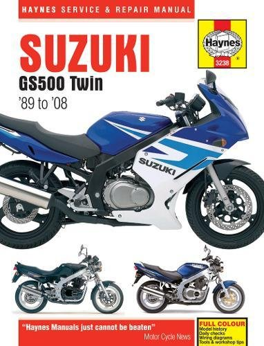 Suzuki GS500 Twin 1989-2008 (Haynes Service & Repair Manual): Haynes, John H