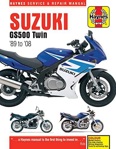 9780857339850: Suzuki GS500 Twin 1989-2008 (Haynes Service & Repair Manual)